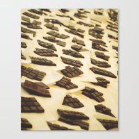 Chocolate En Sant Antoni Canvas Print