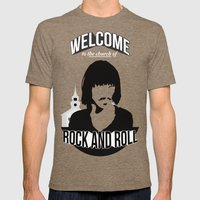 Foxy Shazam - Welcome To… Mens Fitted Tee Tri-Coffee SMALL