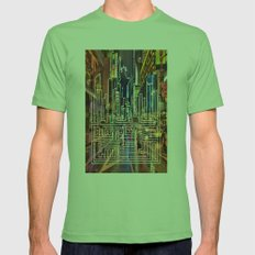 New York City Mens Fitted Tee Grass SMALL