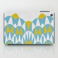 Modern Day Arches Blue A… iPad Case