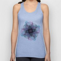 Devil's flower Unisex Tank Top