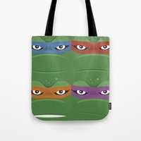 Teenage Mutant Ninja Tur… Tote Bag