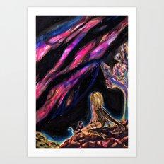 Mirage Art Print