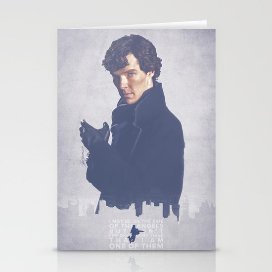 Consulting Detective Stationery Card