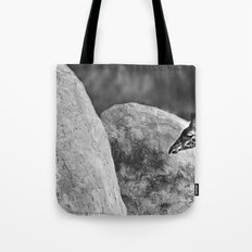 Whiteout - Giraffe Tote Bag