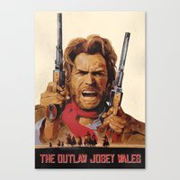 The Outlaw Josey Wales II Canvas Print