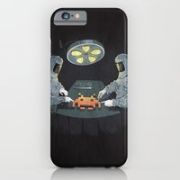 iPhone Cases featuring Alien Autopsy by Chris Rowson