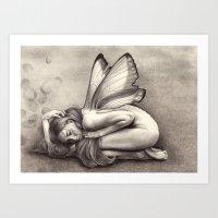 Fallen Art Print