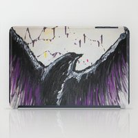 Royal Purple Soaring Bird iPad Case