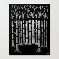 Timber! Canvas Print