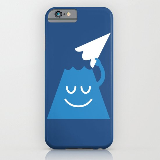 A Friendly Mountain Greeting iPhone & iPod Case
