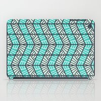 Blue Retro  iPad Case