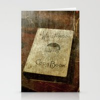 White House Cookbook Stationery Cards