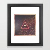 Shelter // For in You I Take Refuge Framed Art Print