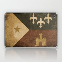 Acadian Flag Laptop & iPad Skin