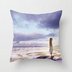 The Lost Story Throw Pillow