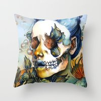 Queen Of SHE Throw Pillow