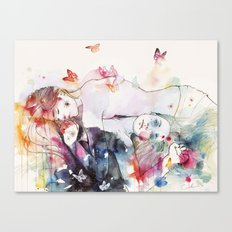 Dreamy Insomnia Canvas Print