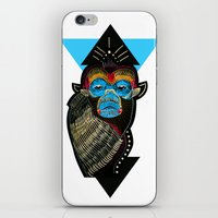 Color Me Monkey iPhone & iPod Skin