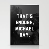 Bayhem  Stationery Cards