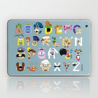Breakfast Mascot Alphabet Laptop & iPad Skin