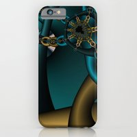 iPhone & iPod Case featuring Spider Chain Fractal by Christy Leigh