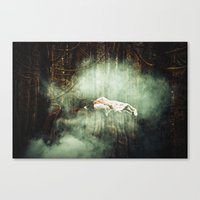In Dreaming Canvas Print