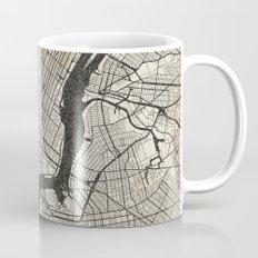 New York - Ink lines Mug