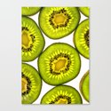 Kiwi Fruit Canvas Print