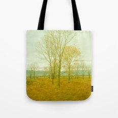 Yellow Morning Tote Bag