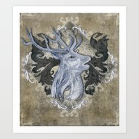 My Deer Friend Art Print