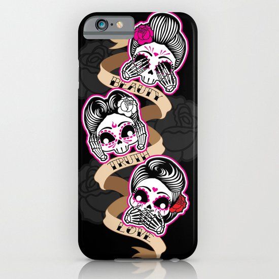 Wise Skulls iPhone & iPod Case