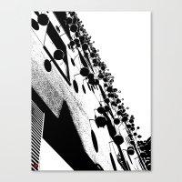 Barna Love B&W Canvas Print