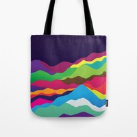 Mountains Of Sand Tote Bag