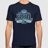 Infinite Who Mens Fitted Tee Navy SMALL