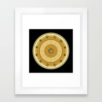 Fleuron Composition No. 113 Framed Art Print