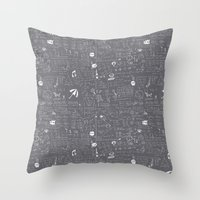 Maths Throw Pillow
