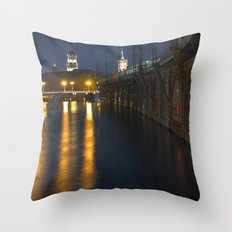 GHOST HOUR In BERLIN Throw Pillow