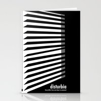 Disturbia Stationery Cards