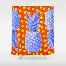 Pineapple Oyster Shower Curtain