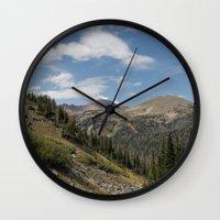 Clark Peak Wall Clock