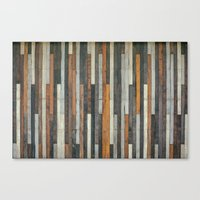 Wood Paneling Canvas Print