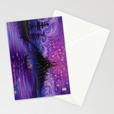 The Lantern Scene Stationery Cards