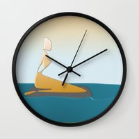 The Mermaid Wall Clock