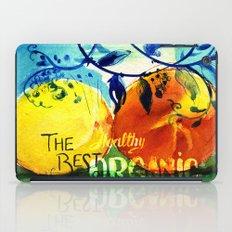 Organic Fruits iPad Case