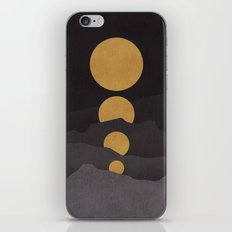 Rise of the golden moon iPhone & iPod Skin