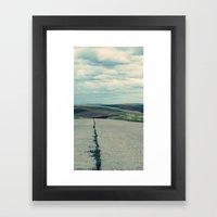 Country Road Framed Art Print