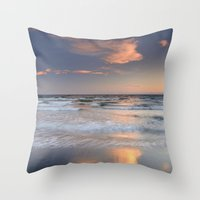 Waves... Throw Pillow