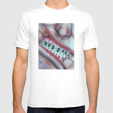 Money Mouth  Mens Fitted Tee SMALL White