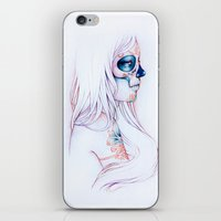 Between Lines is Silence iPhone & iPod Skin
